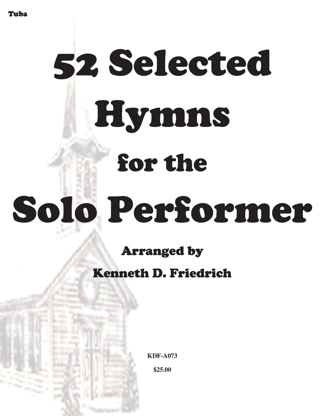 Download 52 Selected Hymns for the Solo Performer-tuba version PDF