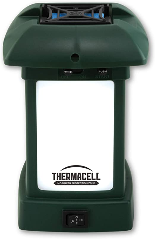 ThermaCell Mückenschutz Camping Laterne MR-9W  Gartenlaterne LED  Mosquito