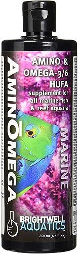 Brightwell Aquatics AminOmega – Amino Acid and Omega Food Supplement for All Marine Fish and Reef Aquariums