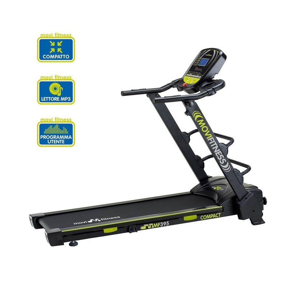 Movi Fitness Laufband platzsparend klappbar Fitness Laufen Fitnessstudio Sport Programme MP3