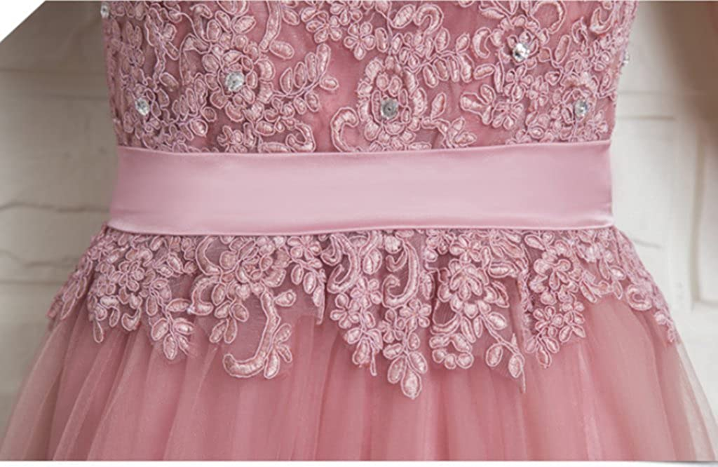 Snow Lotus Womens V-Neck Sleeveless Long Bridesmaid Dresses