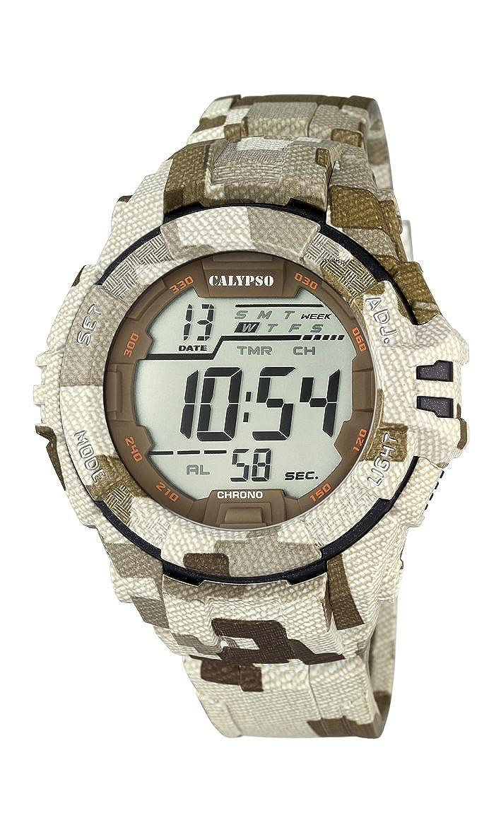 Calypso Watches Reloj Digital para Hombre de Cuarzo con Correa en Caucho K5681_2
