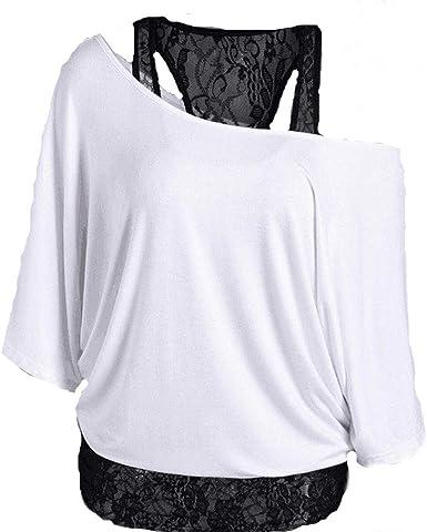 UK Ladies Summer Tops lace Neck Short Sleeve shirt Cotton Linen Dress plus size