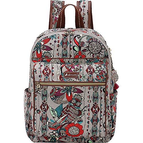 sakroots-artist-circle-cargo-backpack-charcoal-spirit-desert
