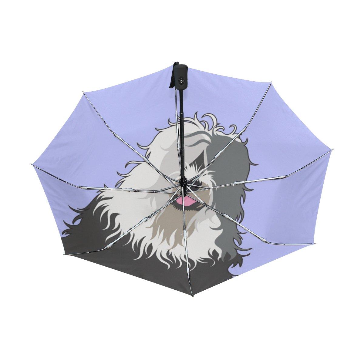 Amazon.com: My Daily Old English Sheepdog paraguas de viaje ...