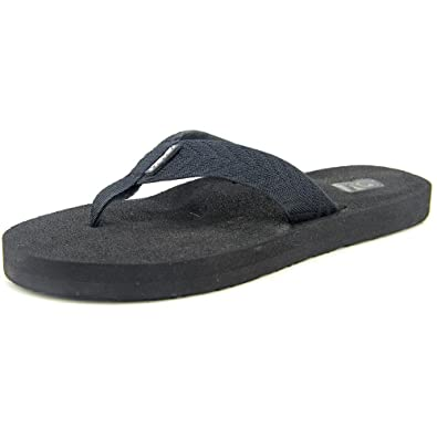43b5fd0f09a81f Teva Mush II Women US 7 Black Flip Flop Sandal UK 5 EU 38  Amazon.co.uk   Shoes   Bags