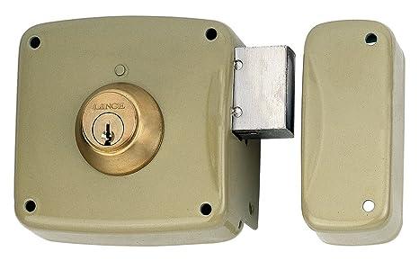 Lince 3017190 Cerradura 5124-ap/100 Derecha, Oro