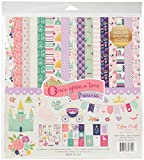 Echo Park Paper Company OUG122016 Once Upon A Time-Princess Collection Kit