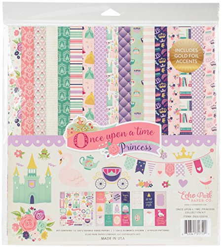 Echo Park Paper Company OUG122016 Once Upon A Time-Princess Collection Kit by Echo Park Paper Company