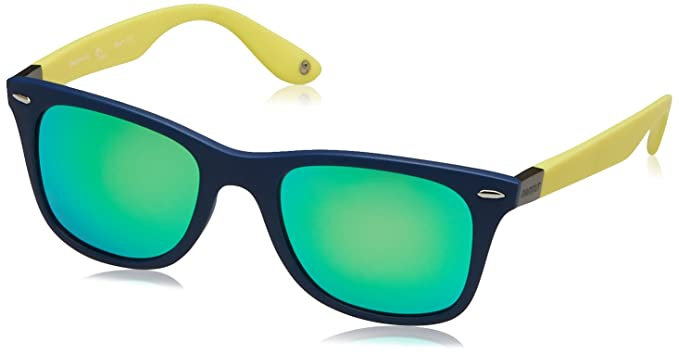 Mammut Mancora Gafas de Sol, Azul/Amarillo, 50 Unisex ...