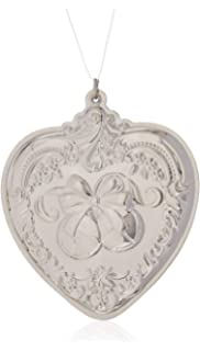 Wallace 2018 Grand Baroque Snowflake Sterling Silver Christmas Holiday Ornament 21st Edition Lifetime Brands 5224484
