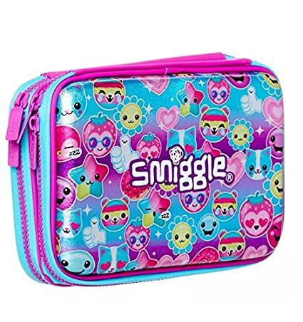 Amazon.com: Smiggle Stylin Double Up Hard Top - Estuche ...