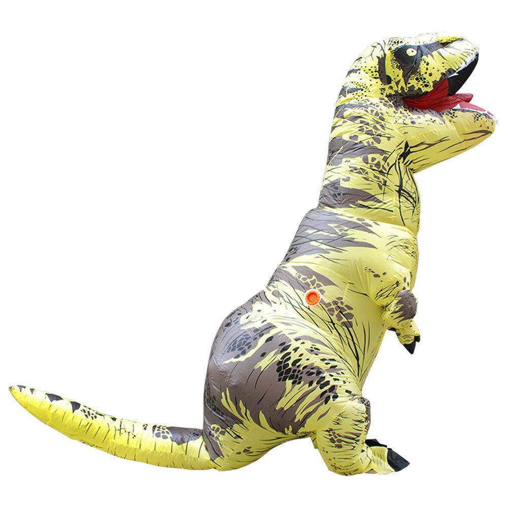 SHUFEI Disfraz Hinchable De Dinosaurio Niño,T-Rex-Cosply ...