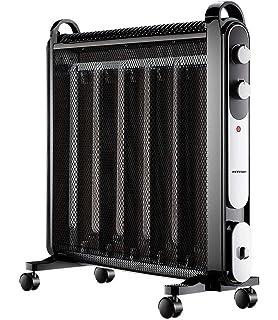Calefactor Radiador Eléctrico Bajo Consumo con Panel de Mica ...