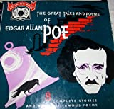 Great Tales and Poems of Edgar Allan Poe:Tell-Tale Heart/Black Cat/Cask Of Amontillado/Facts In The Case Of M.Valdemar/Fall Of The House Of Usher/Masque Of The Red Death/Shadow/The Raven/Annabel Lee/The Bells/Ulalume (4-Record Vinyl 7