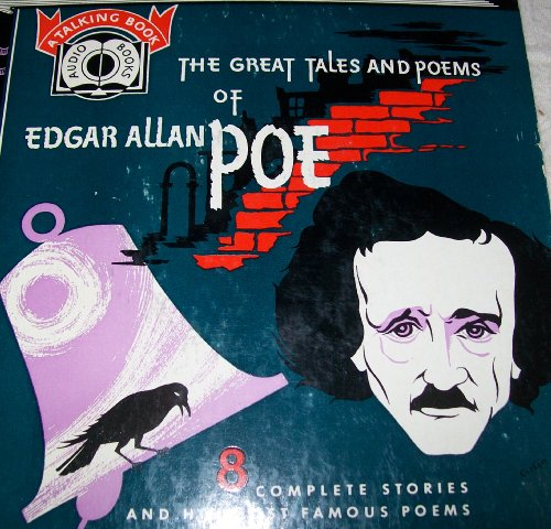 Valdemar Set - Great Tales and Poems of Edgar Allan Poe:Tell-Tale Heart/Black Cat/Cask Of Amontillado/Facts In The Case Of M.Valdemar/Fall Of The House Of Usher/Masque Of The Red Death/Shadow/The Raven/Annabel Lee/The Bells/Ulalume (4-Record Vinyl 7