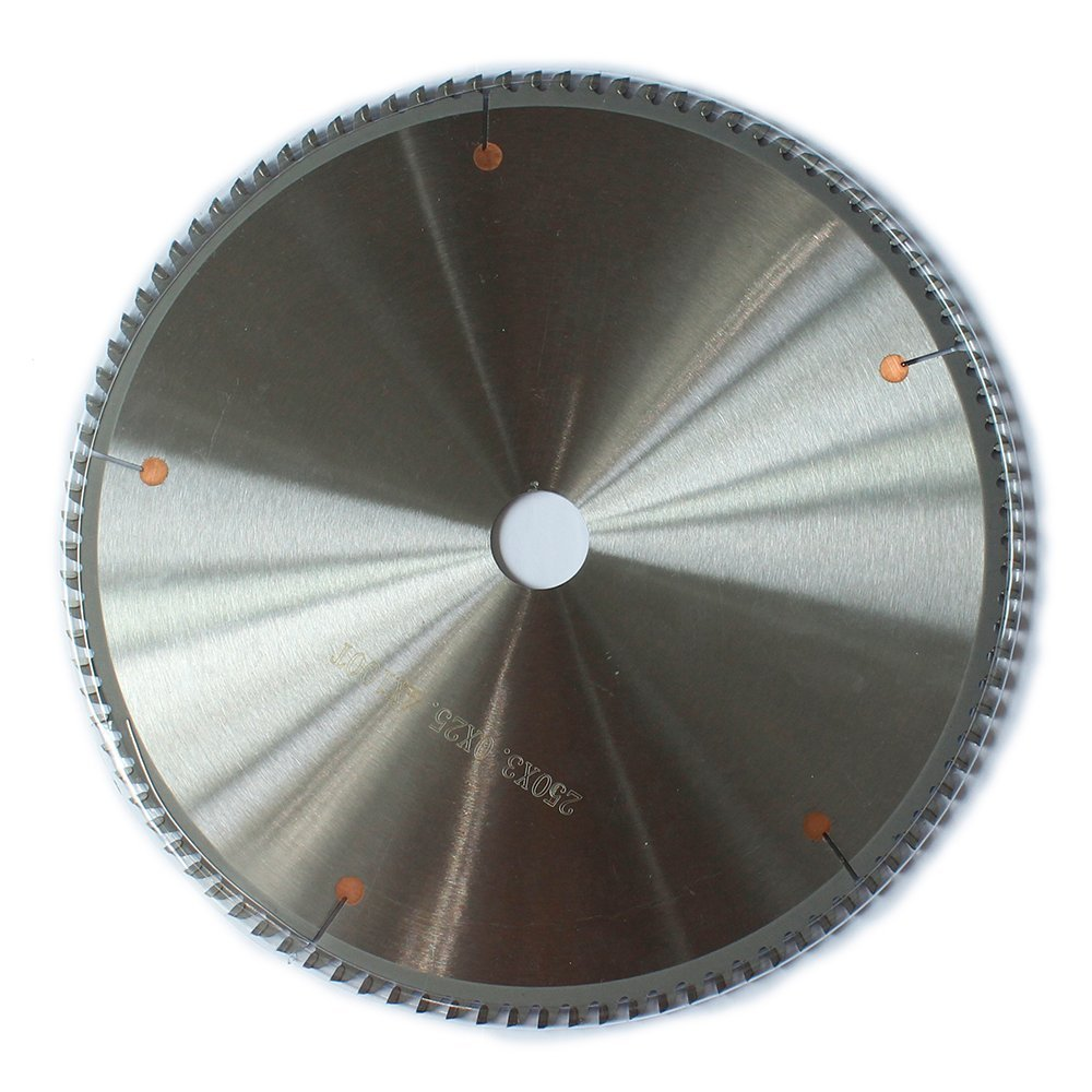10 Inch TCT Carbide Cutter Circular Saw Blades 5/8 Inch Arbor For Aluminum Copper Bronze Brass Non ferrous Metal Cutting Saw Blade 100 Tooth,Pack of 1