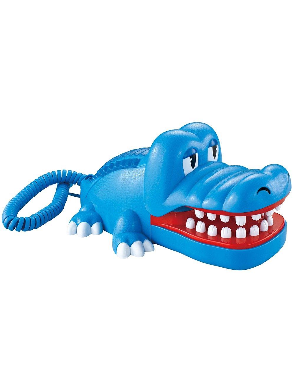 Tel/éfono de Dormitorio de Ni/ños Tel/éfono L/ínea de tel/éfono de Cuerda de cocodrilo de Dibujos Animados Color : Blue
