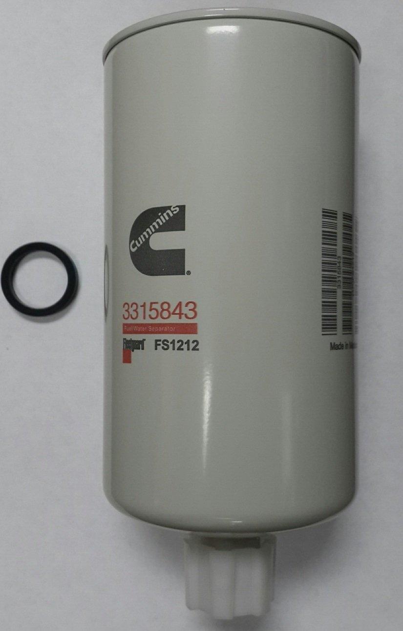 Fuel Water Separators System Automotive 1996 F250 Filter Fleetguard Sep Fs1212 Spin On