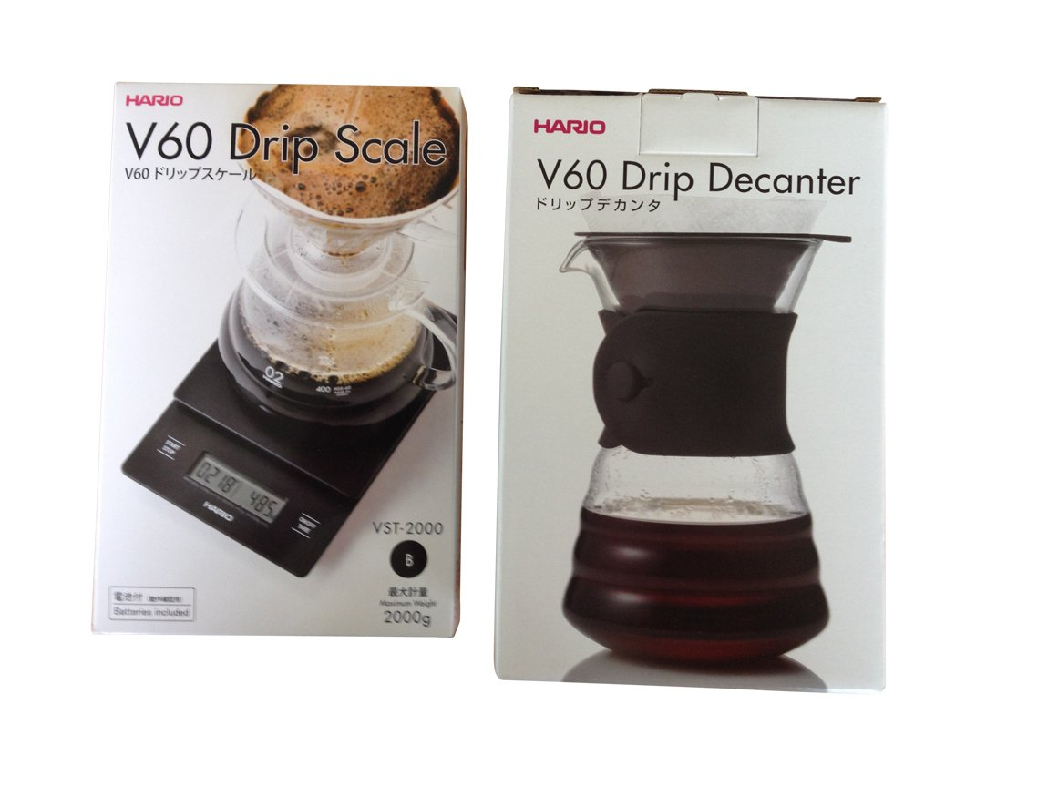 Hario V60 Drip Scale And Decanter Sets Sold Together Amazon Vst 2000b
