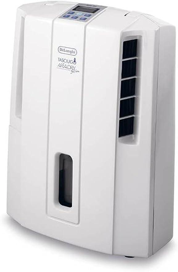 DeLonghi DES16EW, 250 W, 42 Db, Blanco/Plata, 375 x 190 x 485 mm ...