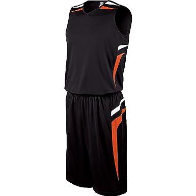 87b62b924d84 Amazon.com  Holloway Youth Prodigy Basketball Jersey