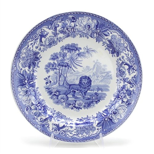 Collection Dinner Blue Plate Room (Blue Room Collection by Spode, Stoneware Dinner Plate, Aesops Fables)