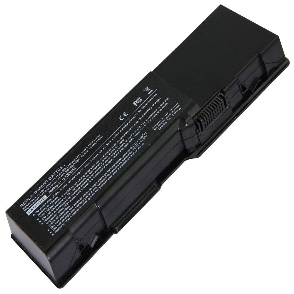 Bateria para Dell Inspiron 1501 6400 E1501 E1505 GD761 HK421 KD476 TD344 TD347
