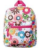 KEYSTONE 儿童背包 花朵 粉色 高さ/約25cm, 幅/約21cm, 奥行/約9cm KIBAFLPK