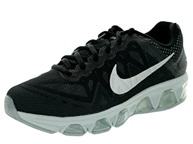 innovative design b2720 c3f52 Nike Womens Air Max Tailwind 7 Black Metallic Silver Pr Pltnm Dk Mgn