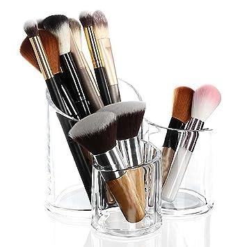 Acryl Kosmetik Organizer Make Up Aufbewahrung Kunststoff Becher Für Schminke  Und Makeup