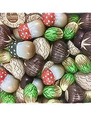 Cioccolatini Sapori del Bosco La Suissa Kg 1 - Praline assortite di Cioccolato al Latte e Fondente ripiene nei gusti Nocciola, Noce e Castagna - senza glutine
