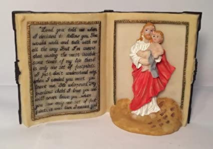 Amazon.com: Jesus/child Book Prayer Plaque: Everything Else
