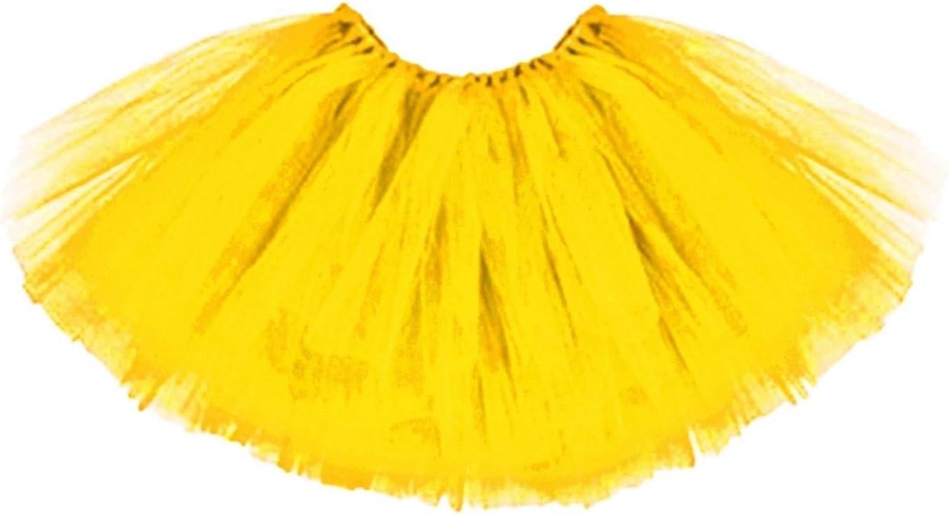Produits De Qualite T/üt/ü Tutu Ballettrock T/üllrock Petticoat Ballettkleid Rock Ballett 3-Lagig Rainbow