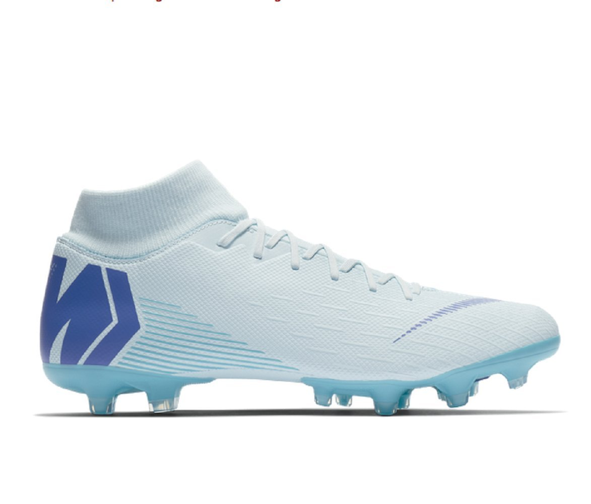 sports shoes 156ed 5bb81 Galleon - Nike Mercurial Superfly 6 Academy MG (Glacier Blue ...