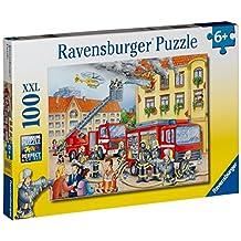 Ravensburger Fire Department - 100 pc Puzzle