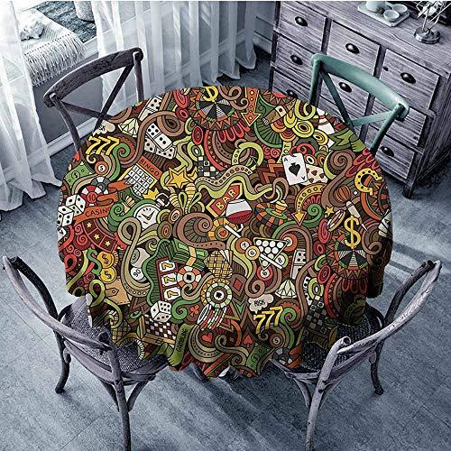 HeKua Casino,Round Table Covers D 50