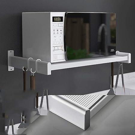 QKUANG Soporte de microondas Negro Soporte de Cocina Soporte ...