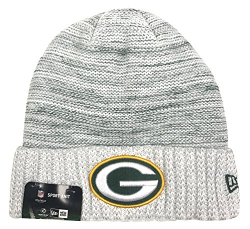 New Era 2017 NFL Green Bay Packers Color Rush Knit Beanie Cap Hat OTC - Color Green New