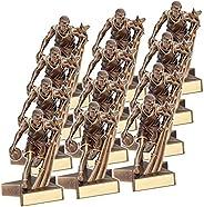 "On Top Awards - Super Star Basketball Trophy Award Resin - 6.5"""