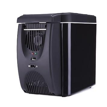 Tragbar 12V Auto Kühlschrank Mini Kühlbox Kühltasche Kühler//Wärmer Camping 4L DE