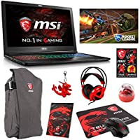MSI GS63VR STEALTH PRO-229 Pro Extreme (i7-7700HQ, 32GB RAM, 512GB NVMe SSD + 1TB HDD, NVIDIA GTX 1060 6GB, 15.6 Full HD, Windows 10 Pro) VR Ready Gaming Notebook
