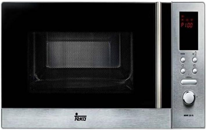 TEKA - Microondas 23l 800 w grill inox: Amazon.es: Hogar