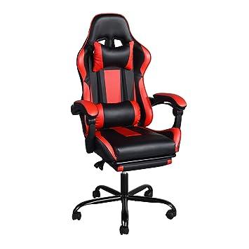 Houseinbox Racing Réglable Chaise Bureau Ergonomique Gaming En De Nn0mwv8