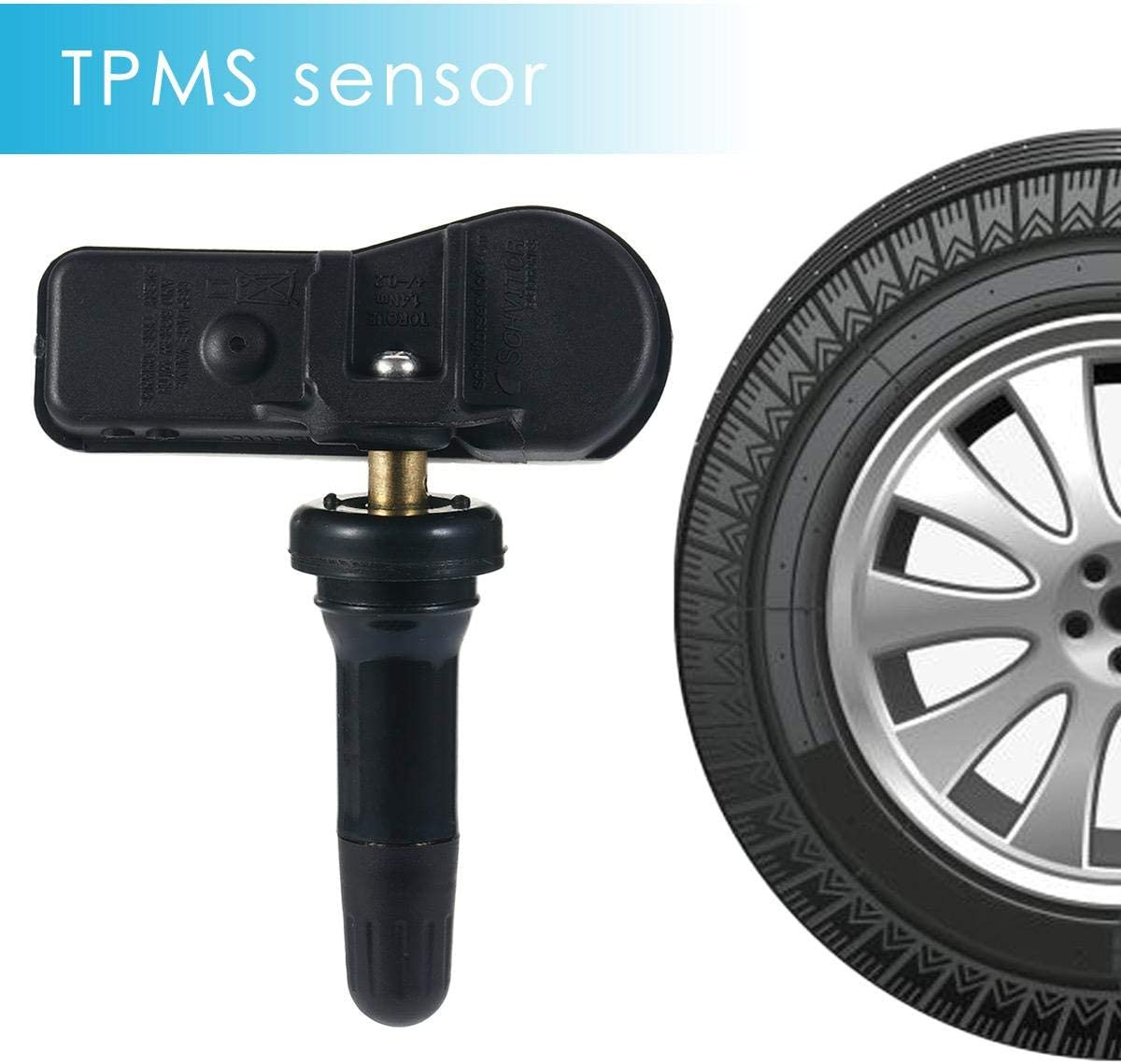 RICAMBIO tpms sensore di pressione dei pneumatici stelo della valvola HYUNDAI