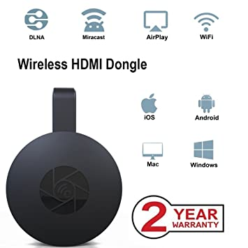 Wireless WiFi Display Dongle,Portable Display Receiver,1080P HDMI ...