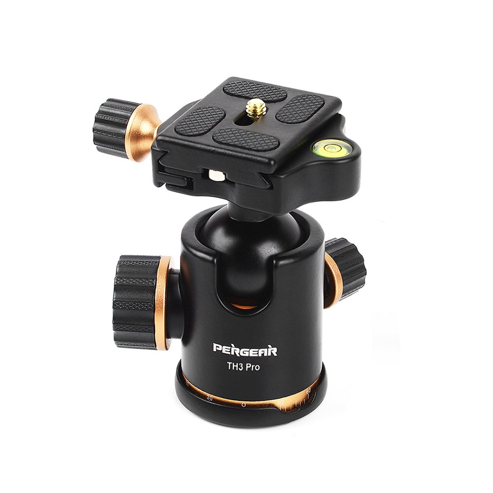Zecti Tripod Head Aluminum Heavy Duty Ball With Throw Your Camera To Take Panoramic Photos Pergear Photography 360 Degree Fluid Rotation Ballhead