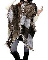 FENTI Damen Maedchen Langer Schal 250cm*70cm Deckenstoffschaln Schalcape Winter Schal mit Fransen und spitzen Enden XXL