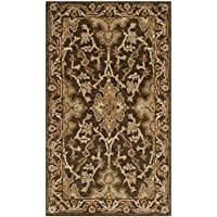 Safavieh Classic Collection CL931A Handmade Traditional Oriental Brown Wool Area Rug (3 x 5)