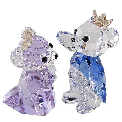 スワロフスキー Kris Bear /[並行輸入品/] SWAROVSKI フィギュア クリスベア クリスタル Princess 5301569 プリンセス /& /& プリンス Prince
